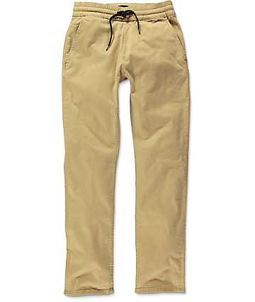 Imperial Motion Chapter Khaki Chino Jogger Pants
