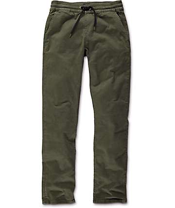 Imperial Motion Chapter Olive Slim Fit Chino Pants
