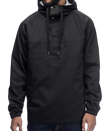 Imperial Motion Clinton Anorak Black Jacket