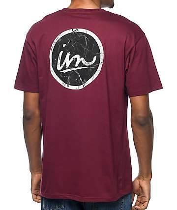 Imperial Motion Cruiser Marble Maroon T-Shirt