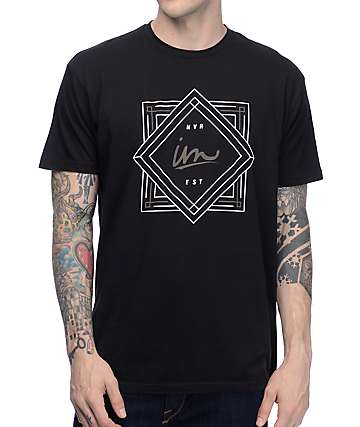 Imperial Motion Deco Black T-Shirt