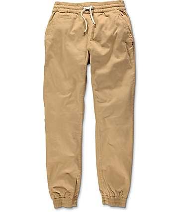 Imperial Motion Denny pantalones jogger en color caqui