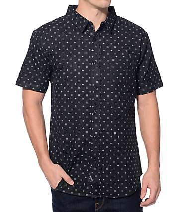 Imperial Motion Doubles Black Button Up Shirt