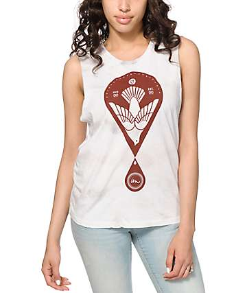 Imperial Motion Dove Five Blot Dye Muscle Tee