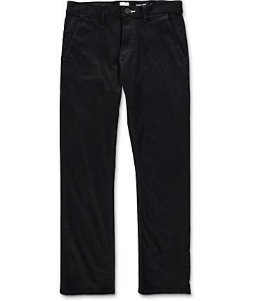 Imperial Motion Federal Straight Fit Black Chino Pants