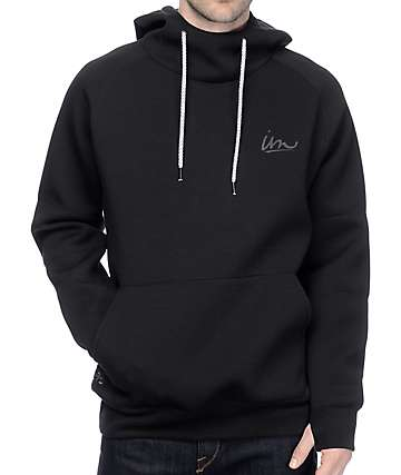 Imperial Motion Filament Black Tech Fleece Hoodie