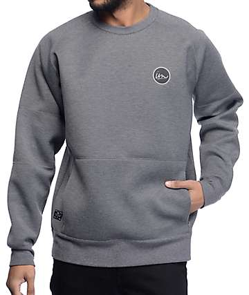 Imperial Motion Filament Gunmetal Tech Fleece Sweatshirt