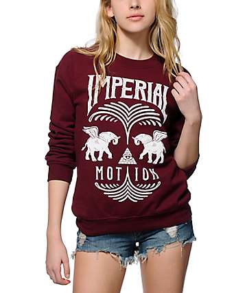 Imperial Motion Fountain Crew Neck Sweatshirt