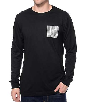 Imperial Motion Hotline Tongue Black Long Sleeve T-Shirt