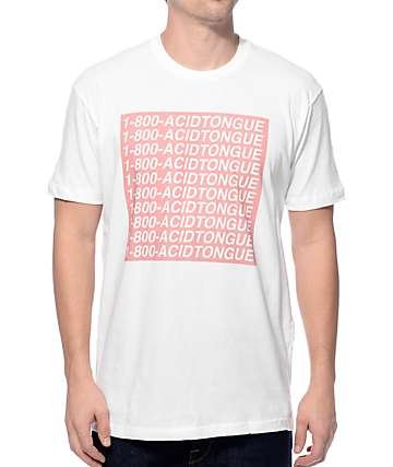 Imperial Motion Hotline Tongue White T-Shirt