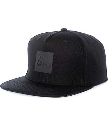 Imperial Motion Lark Black Snapback Hat
