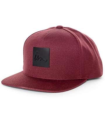 Imperial Motion Lark Maroon Snapback Hat