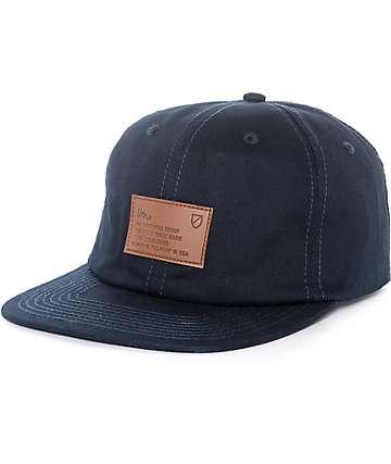 Imperial Motion Latitude gorra strapback en azul marino