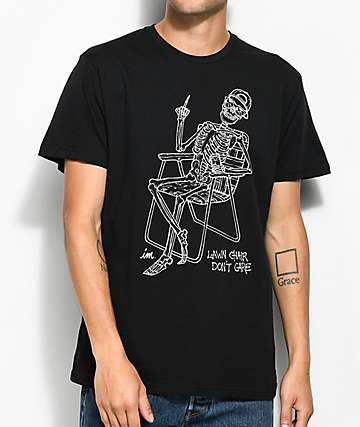 Imperial Motion Lawn Chair Black T-Shirt