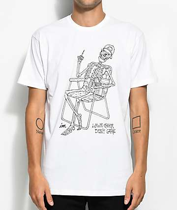 Imperial Motion Lawn Chair White T-Shirt