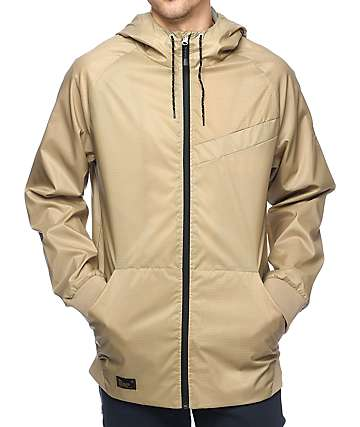 Imperial Motion NCT Welder Khaki Windbreaker Jacket
