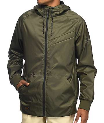 Imperial Motion NCT Welder Olive Windbreaker Jacket