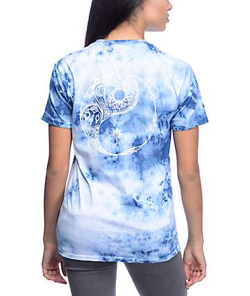 Imperial Motion Nature Balance Navy Tie Dye T-Shirt