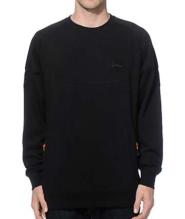 Imperial Motion Patchwork Crew Neck Sweatshirt
