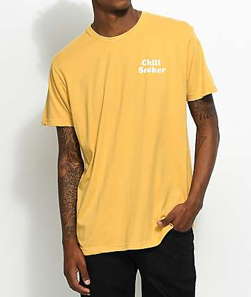 Imperial Motion Seeker Type Mustard T-Shirt