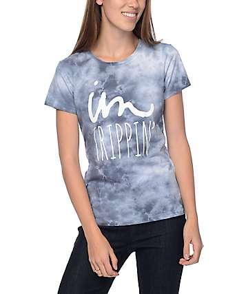 Imperial Motion Trippin Indigo Tie Dye T-Shirt