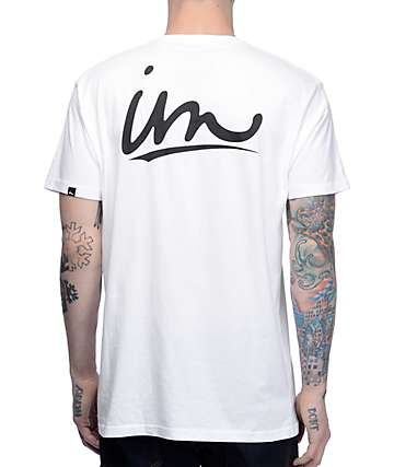 Imperial Motion Underline White T-Shirt