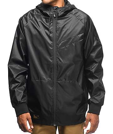 Imperial Motion Welder NCT Black Windbreaker Jacket
