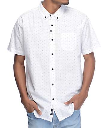 Imperial Motion Winston Woven White Button Up Shirt
