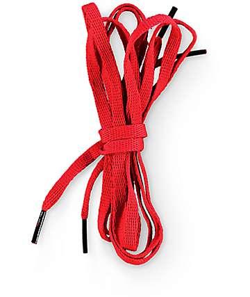 Imperial Motion cordones de zapatos rojos