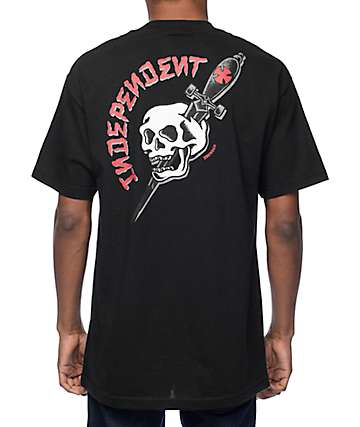 Independent Dressen Black T-Shirt