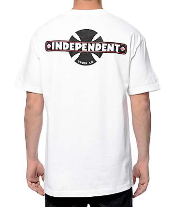 Independent Familiar White T-Shirt