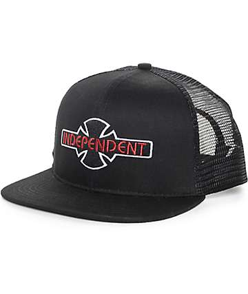 Independent OGBC Logo Black Trucker Hat
