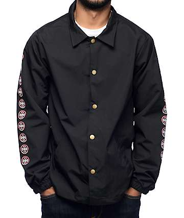 Independent Quatro Black Coaches Jacket