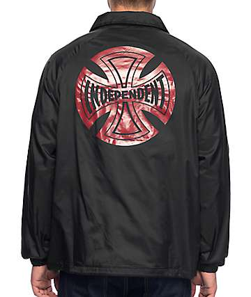 Independent Subdue Black Coaches Jacket