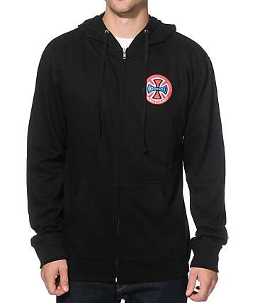Independent Suspension Zip Up Hoodie