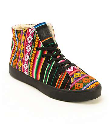 Inkkas Spectrum High Top Shoes