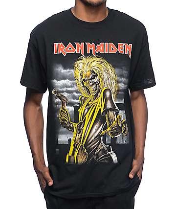 Iron Maiden Killers camiseta negra