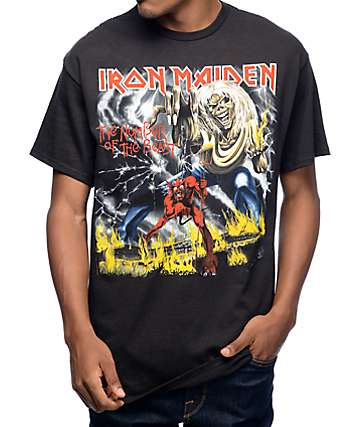 Iron Maiden Number Of The Beast Black T-Shirt