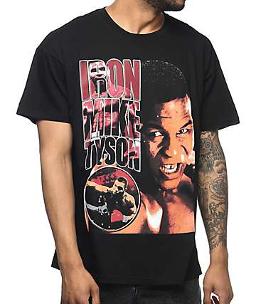 Iron Mike Tyson Black T-Shirt