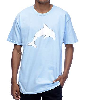 J By Jasper Dolphin Cloud Light Blue T-Shirt