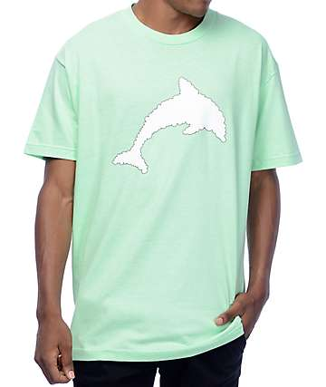 J By Jasper Dolphine Cloud Mint T-Shirt