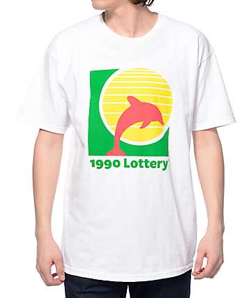 J. By Jasper Lottery White T-Shirt