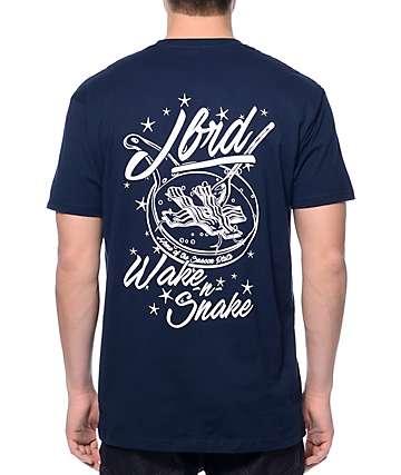 JBRD Wake N Snake Navy T-Shirt