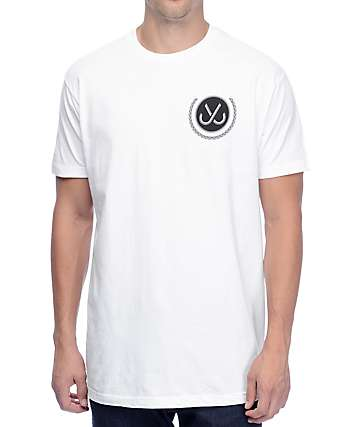 JSLV Caddy Select White T-Shirt