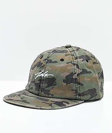 JSLV Camo Polo Strapback Hat