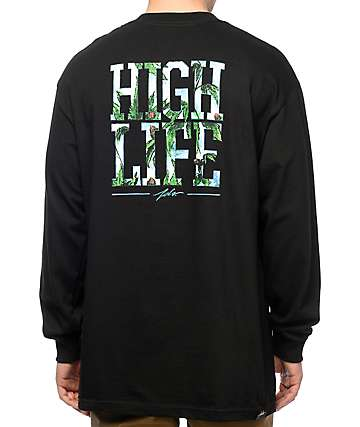 JSLV High Life X Jay Black Long Sleeve T-Shirt