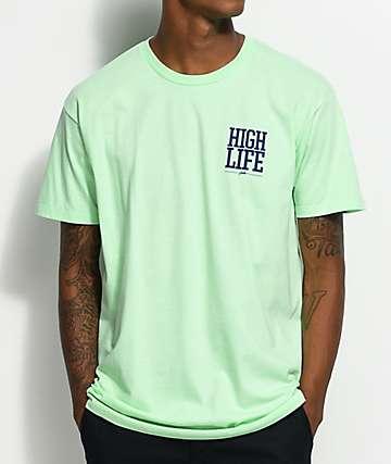 JSLV Highlife Crest Mint T-Shirt