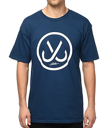 JSLV Hooks Harbor Blue T-Shirt