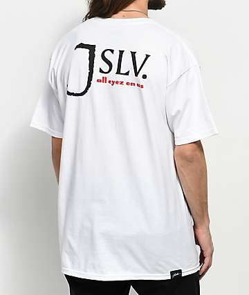 JSLV Most Wanted White T-Shirt