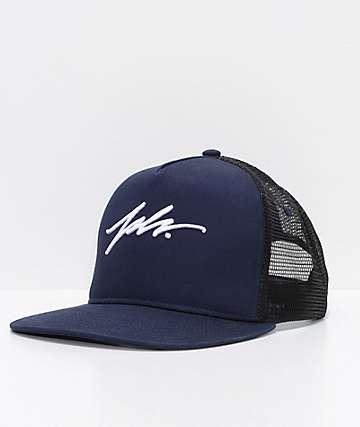 JSLV Signature Navy Snapback Hat